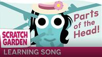 The Parts of the Head Song – Teaching Body Parts to Kids