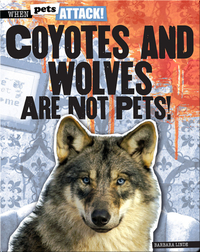 Coyotes and Wolves Are Not Pets!