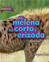 Mi melena es corta y erizada (hyena)