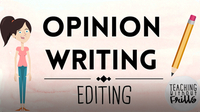 Opinion Writing for Kids: Editing