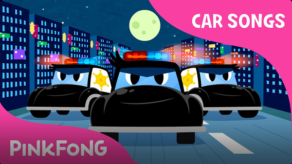 Police Car Song | Car Songs
