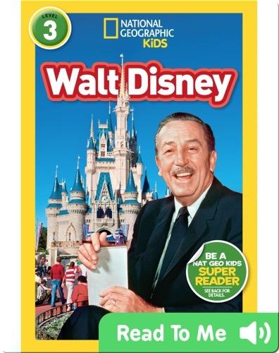 National Geographic Readers: Walt Disney
