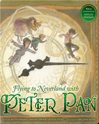 Flying to Neverland with Peter Pan