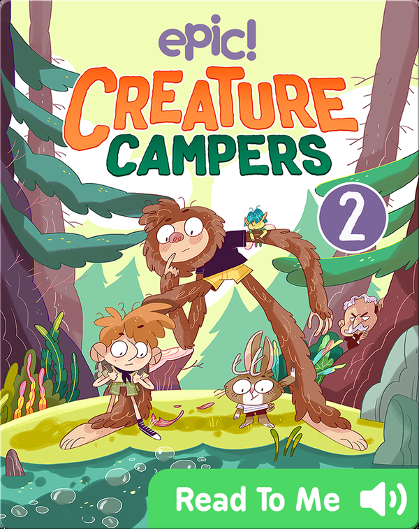 Creature Campers Book 2: The Secret of Shadow Lake