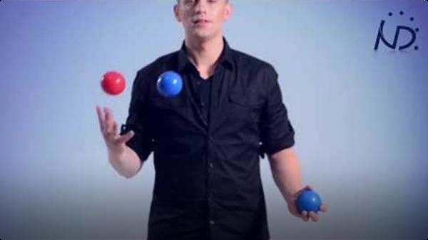 Juggling Trick: Reverse Cascade