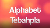 Alphabet Tebahpla