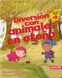 Diversión con animales en otoño