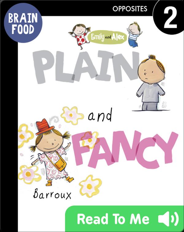 Brain Food: Plain and Fancy