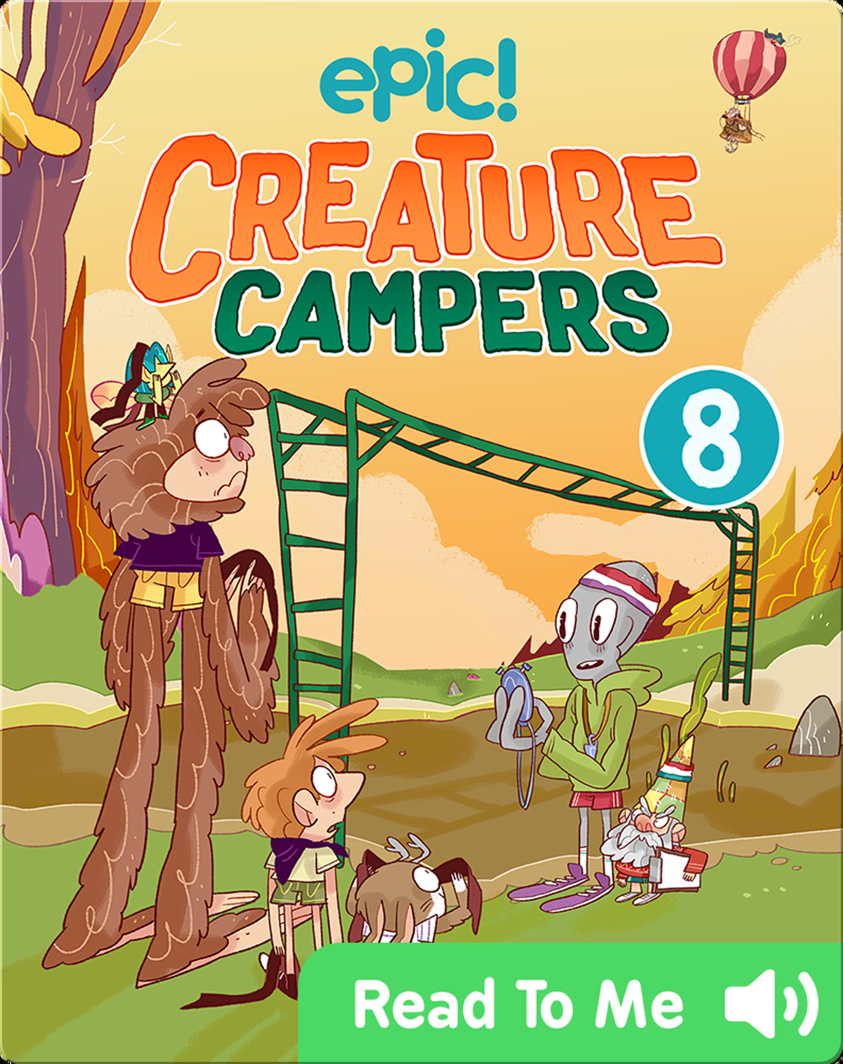 Creature Campers Book 8 The Wall Of Doom Children S Book By Joe Mcgee With Illustrations By Bea Tormo Discover Children S Books Audiobooks Videos More On Epic