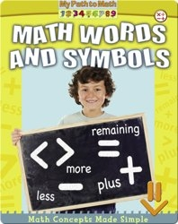 Math Words and Symbols