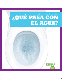 ¿Qué pasa con el agua? (Where Does Water Go?)