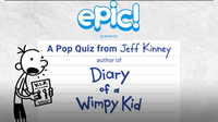 A Pop Quiz from Jeff Kinney
