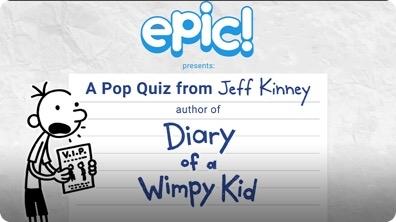 A Pop Quiz from Jeff Kinney