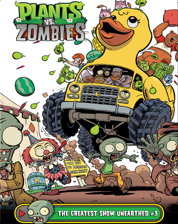 Plants vs Zombies: The Greatest Show Unearthed 3