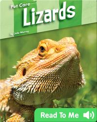 Pet Care: Lizards