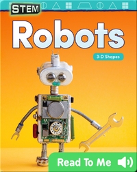 STEM: Robots: 3-D Shapes