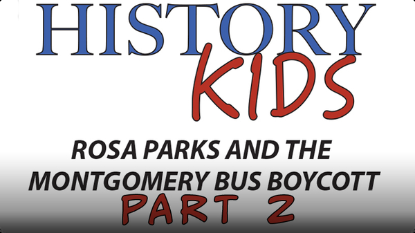 Rosa Parks and the Montgomery Bus Boycott Part 2