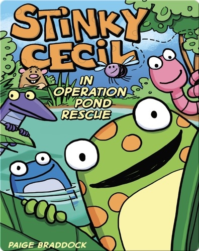 Stinky Cecil in Operation Pond Rescue