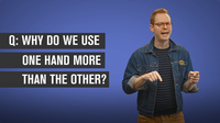 Why Do We Use One Hand More Than the Other?