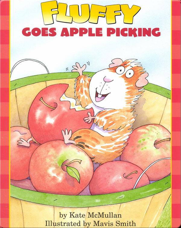 Fluffy Goes Apple Picking