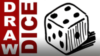 How to Draw a Dice Real Easy