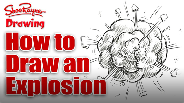 How to Draw a Cartoon Explosion
