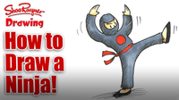 How to Draw a Ninja!
