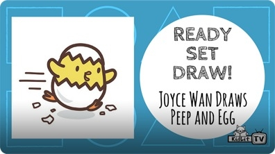 Joyce Wan Draws PEEP AND EGG