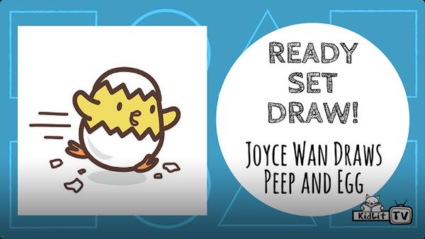 Joyce Wan Draws PEEP AND EGG