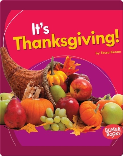 It's Thanksgiving!