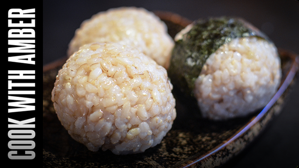 Easy Rice Balls | Cook With Amber