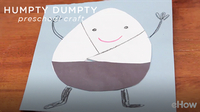 Humpty Dumpty Crafts for Preschool