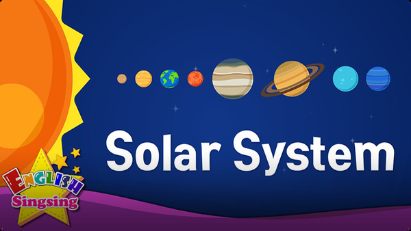 Kids vocabulary: Solar System