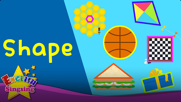Kids Vocabulary: Shape - Name of the Shape