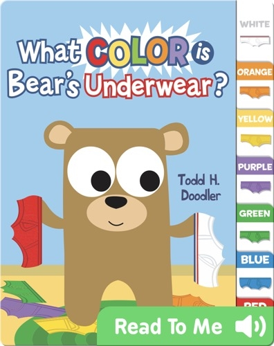 What Color is Bear's Underwear?