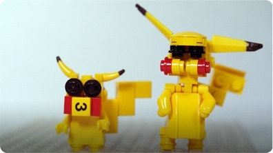 How To Build LEGO Pikachu