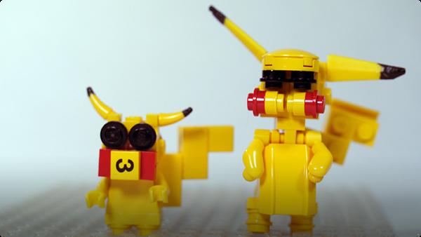 How To Build LEGO Pikachu