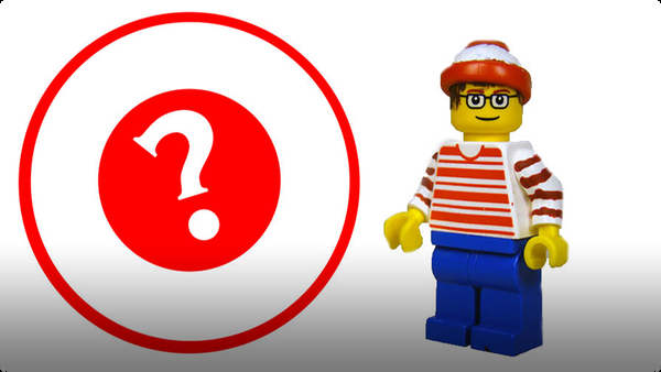 How To Build LEGO Waldo / Wally