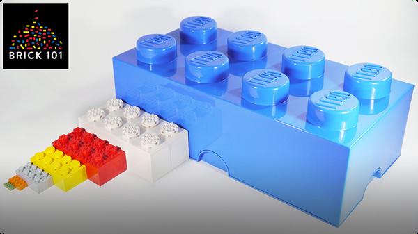 How To Build Big LEGO Bricks