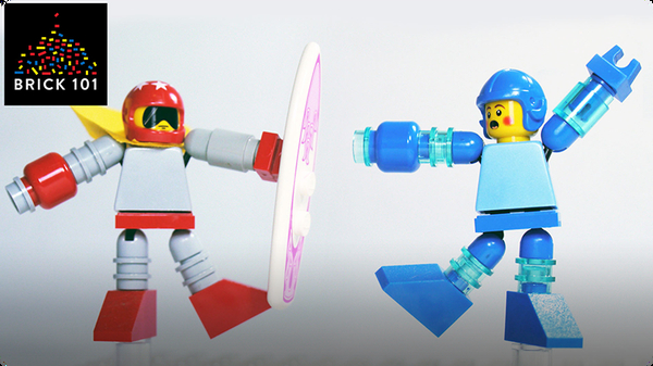 How To Build LEGO Mega Man & Proto Man