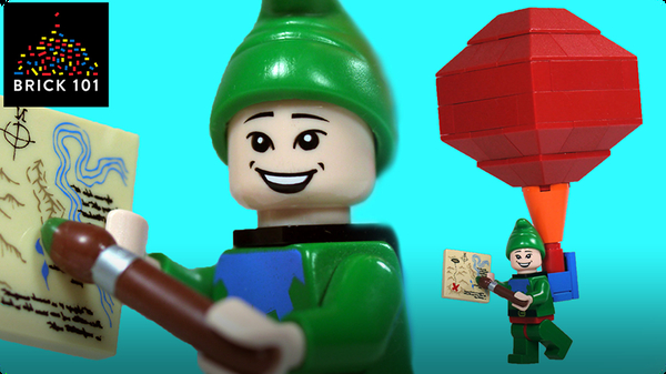 How To Build LEGO Tingle from Legend of Zelda