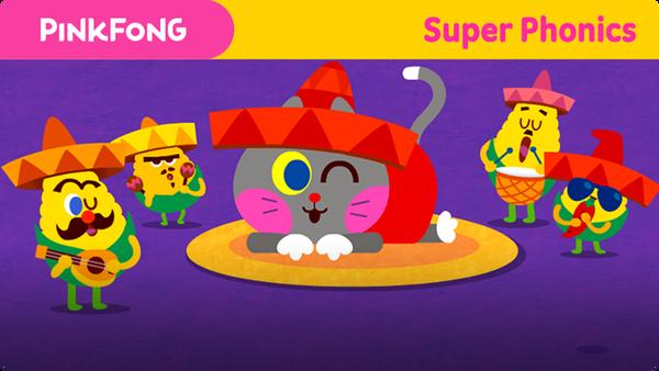 Super Phonics - Cat Cat Cat (at)