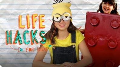 Minion and Lego Costume Hacks | LIFE HACKS FOR KIDS