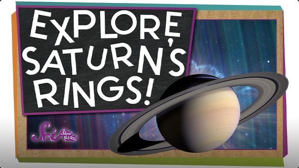 SciShow Kids: Explore Saturn's Rings