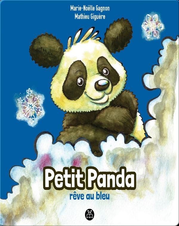 Petit Panda rêve au bleu