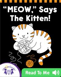 Meow Says the Kitten