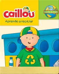 Caillou aprende a reciclar