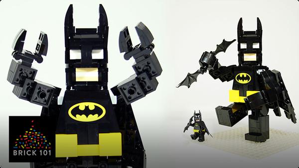 How To Build LEGO Batman