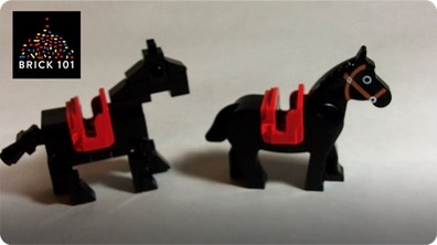 How To Build a LEGO Horse