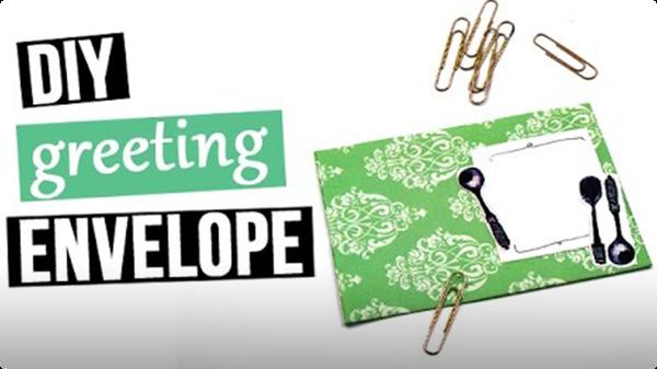 DIY Greeting Envelope